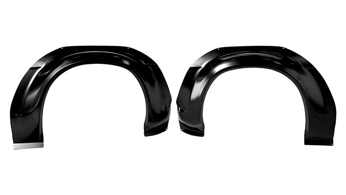 Front Bubble Arches (Pair)
