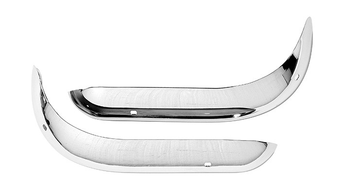 Front Chrome Bumpers Set