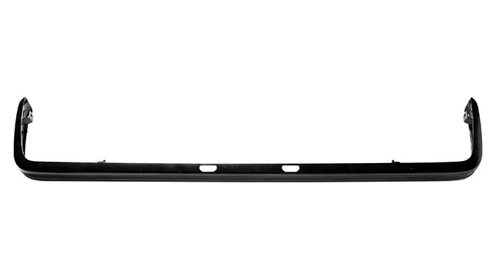 Rear Black Bumper -8/81