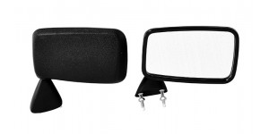 Front Door Mirror Black (Pair)