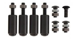 Black Bumper (Front/Rear) Fixing Bolts