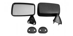 Door Mirror Black Finish