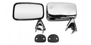 Door Mirror Chrome Finish
